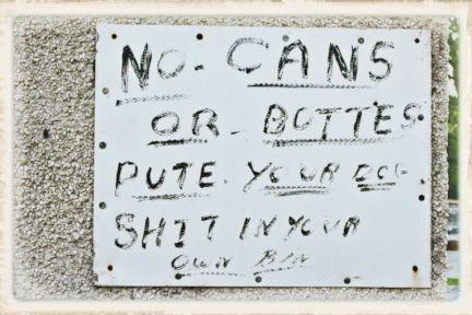 056 No Cans